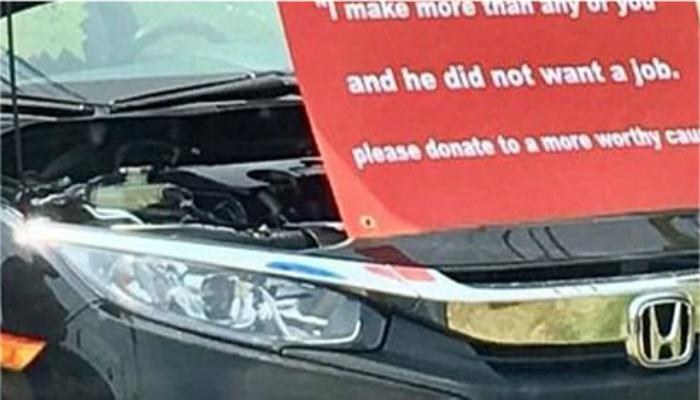 Check Out This Car Dealerships Hilarious Response To Bum Who Turned Down Job Offer [PHOTO]