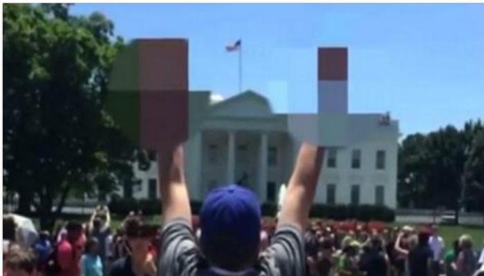 Parents Have A Response To Teacher Who Flipped Off White House While On Tour With Students [PHOTO]