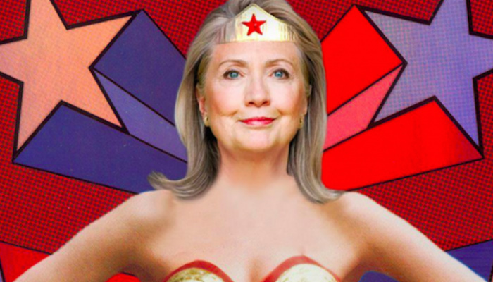 "Hillary: ""I'm A Lot Like Wonder Woman"" [VIDEO]"