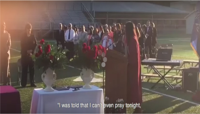 High School Grad Silences Administration After They Told Her To Keep Her Faith Quiet [VIDEO]