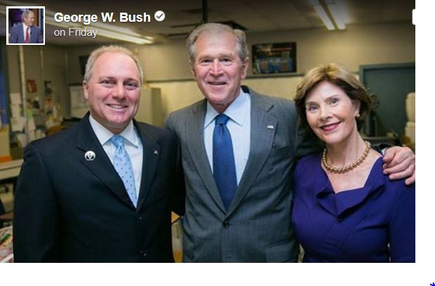 Just Days After GOP Shooting, George W. Bush Takes Matters Into His Own Hands With 1 Big Move
