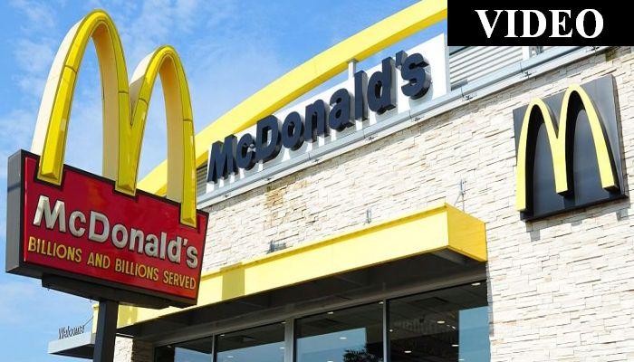 Mc-Brawl-nald's: Cellphone Video Captures Wild Fight Over At McDonald's