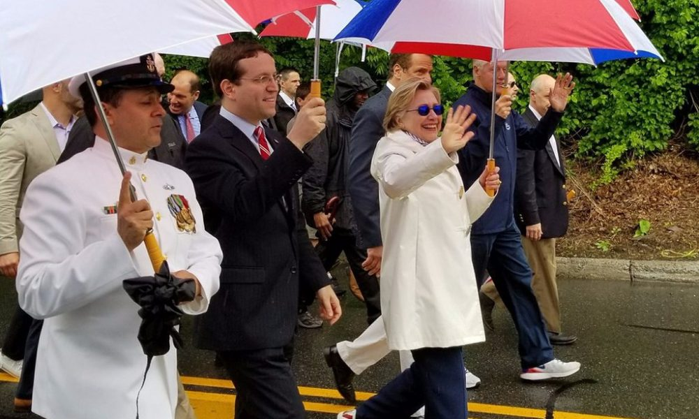 People Notice Something About Hillary Clinton In This Picture From Memorial Day