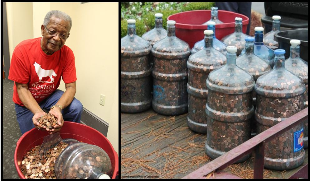 Man Saved Pennies For 45 Years And Finally Decided To Them In — Their Total Is Astounding