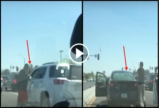 Angry Driver Punches Through Man's Window, Finds Out Why That's A Bad Idea When He Pulls Out A Tire Iron [VIDEO]
