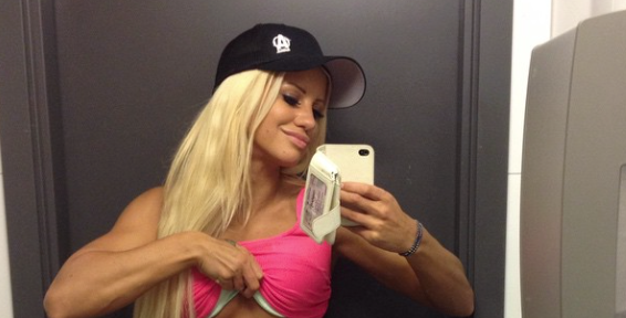 What This Smoking HOT Blonde Is Hiding Under Her Shirt Is AMAZING [VIDEO]