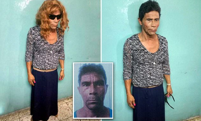 Male Inmate Dressed As Woman Gets Busted Trying To Escape Prison In High Heels