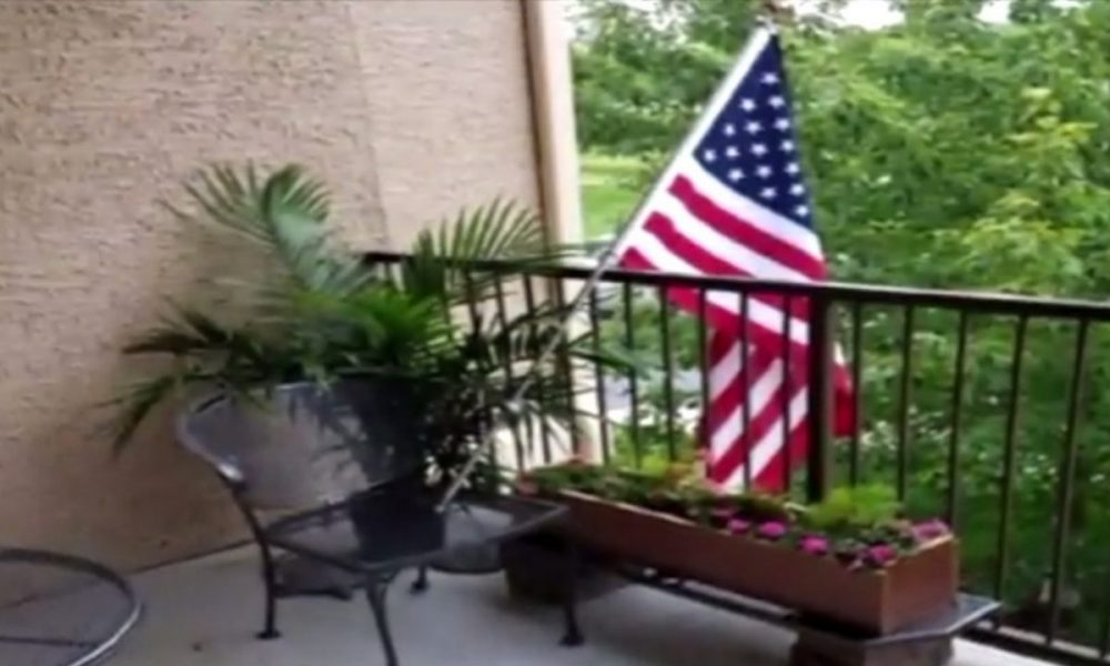 Apartment Complex Tried To Ban Flag Until News Reported on It [VIDEO]