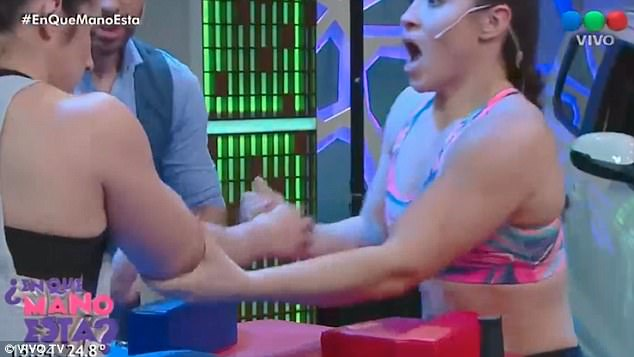 Hear the Gut Wrenching Cracking Sound as Two Women Arm Wrestle [VIDEO]