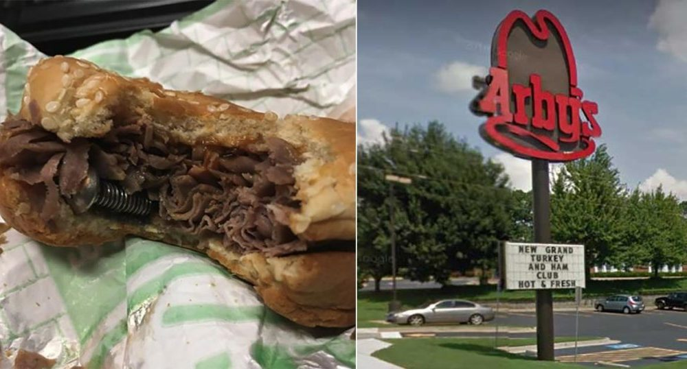 Police Officer Out To Lunch Finds An Odd Ingredient Added To His Sandwich