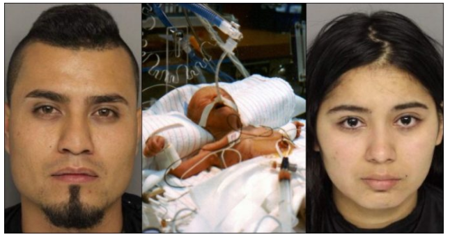 Baby Placed On Ventilator After What Man Was Caught Ramming Down Child's Throat, Now Two Arrested