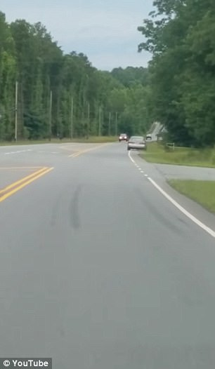 Drunk Driver in NC Drives Off Road and is Launched Through the Air [VIDEO]