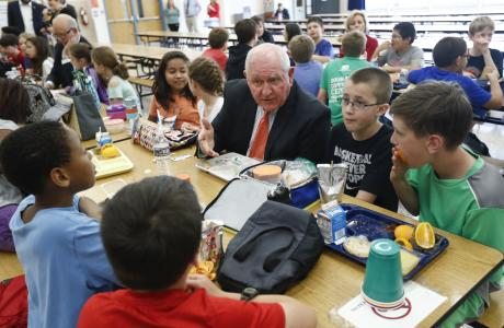 Cafeteria Directors Applaud Trump's Rollback Of Michelle Obama's Lunch Menu