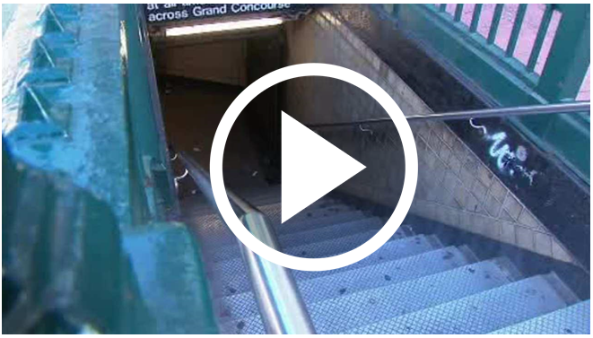 Mother Pushes Toddler In Stroller Down Subway Stairs In Revenge Attempt On Father  [VIDEO]