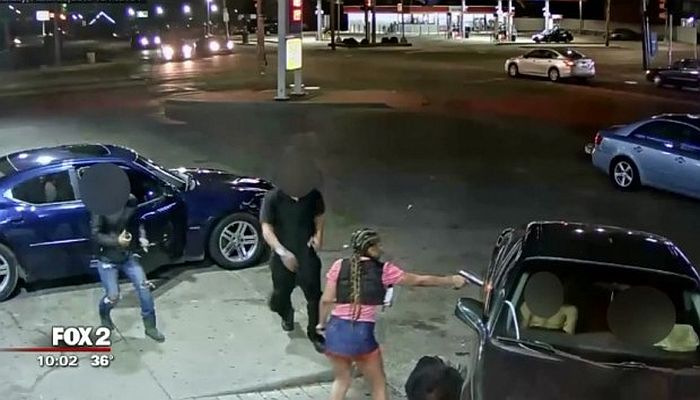 Hi-Def Footage Captures Shooting At Gas Station In Stunning Detail [WATCH]