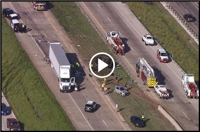 Fort Worth Teen Dies After Accident That Shut Down Major Highway [VIDEO]