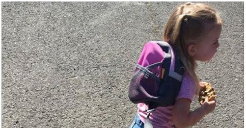 Picture Of Child Goes Viral Once People Notice What's Attached To Her [PHOTOS]