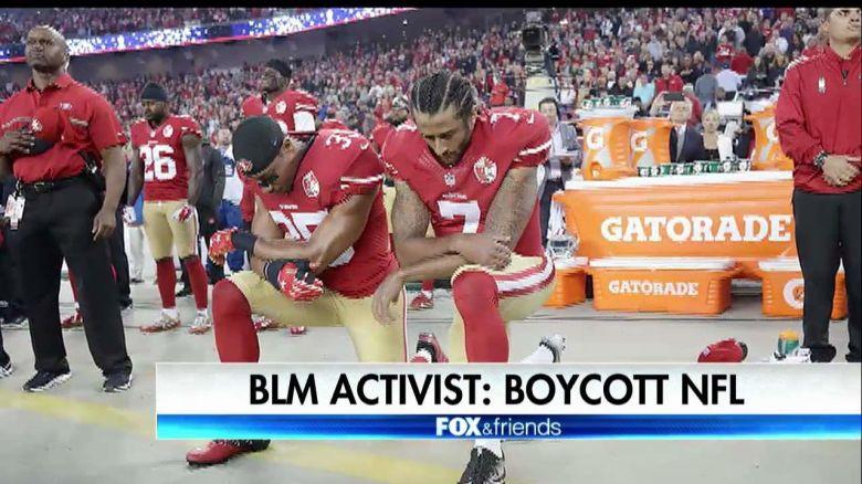 Black Lives Matter Has Panties In Wad Over Blackballing Of Kaepernick