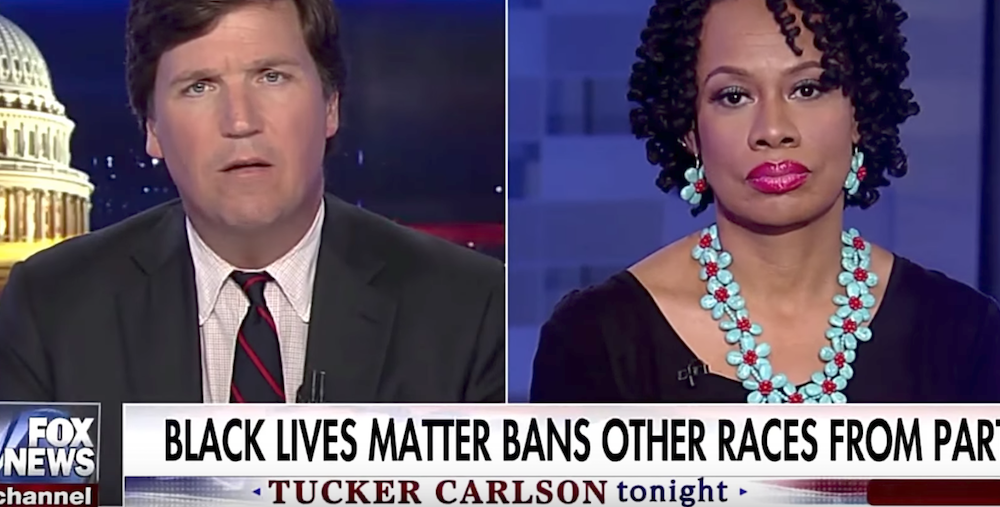 BLM Professor Suspended Indefinitely After Racist Rant on Tucker Carlson [VIDEO]