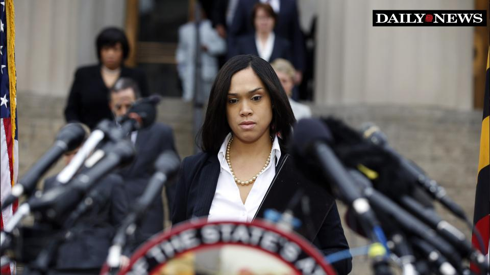 Judge Rules Marilyn Mosby Must Turn Over All Communications..Face Slander Trial
