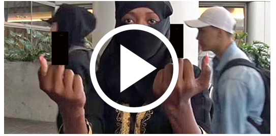 Muslim Woman Goes off on Cameraman… 2 Hours Later the Police Step In [VIDEO]