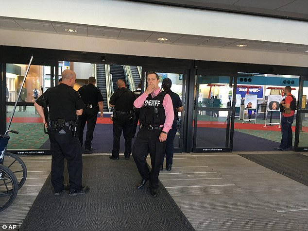 Jihad in Michigan Officer Stabbed In Airport Attack