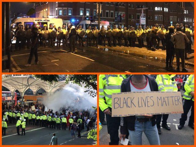 Black Lies Matter Riot in London [VIDEO]