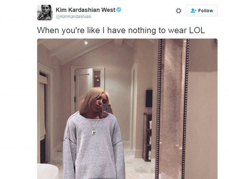 Kim K Posts NSFW Pic On Instagram And The Internet Goes To Work With Photoshop [PHOTOS]