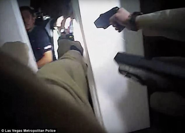 Suspect Shot As He Charged Police With Knife [EXTREMELY GRAPHIC VIDEO]