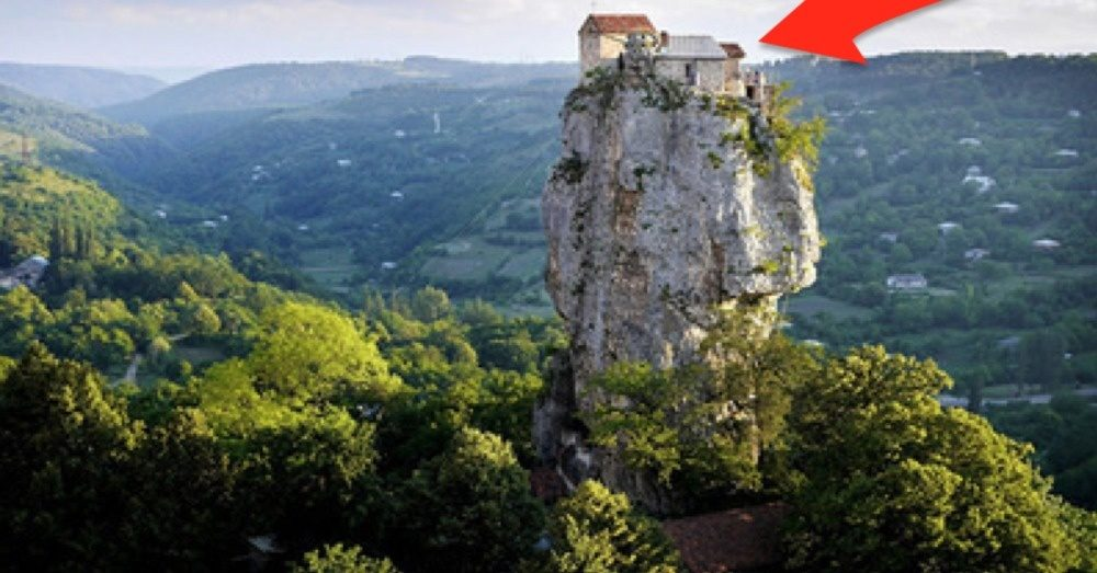 Could You Survive Alone On Top Of This 130ft Pillar? [PHOTOS]