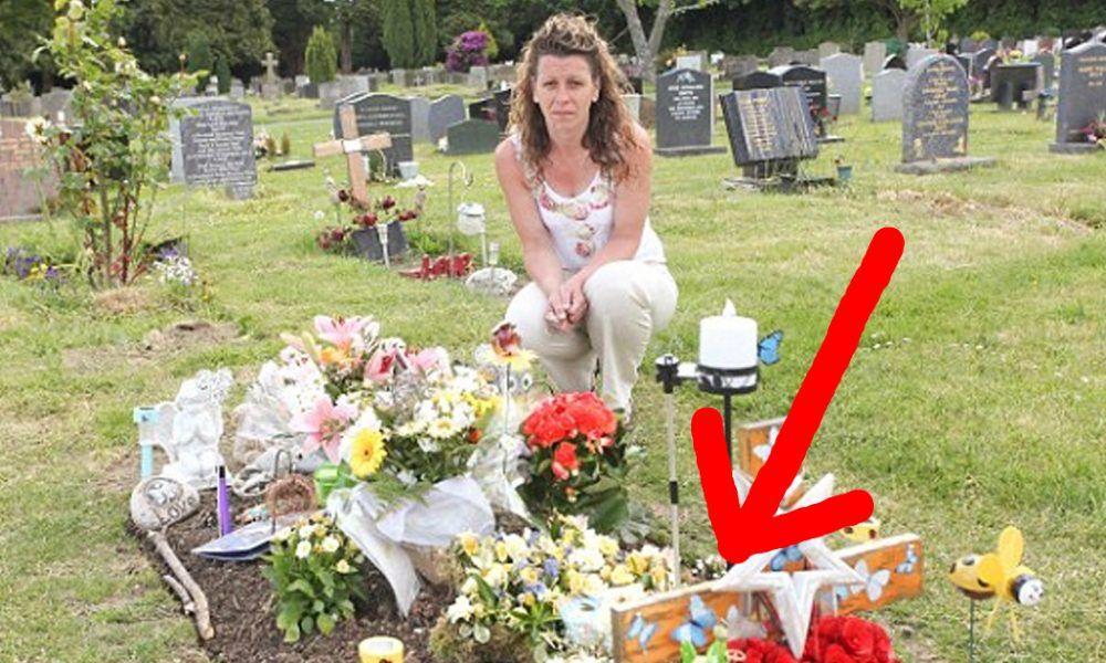 "4-Yr-Old's Headstone so ""Offensive"" it Was Removed – Can You See the Problem?"