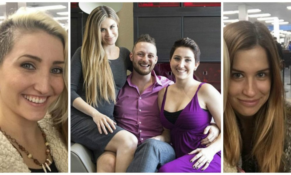 Man With TWO Girlfriends Has Interesting Name For Their Relationship [PHOTOS]