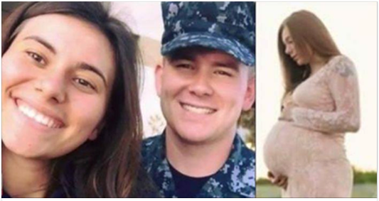 Sailor Wife Shared Maternity Pic, Family Taken Aback By What Else It Caught [PHOTOS]