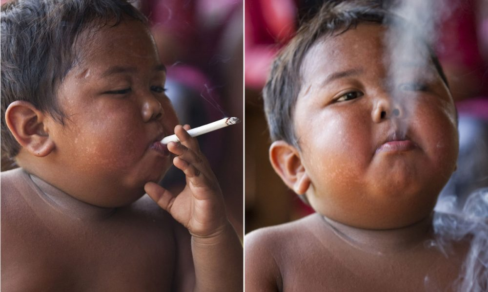 The Viral Toddler Who Smoked 40 Cigarettes Everyday Has Changed And Grown Up – Look At Him Now