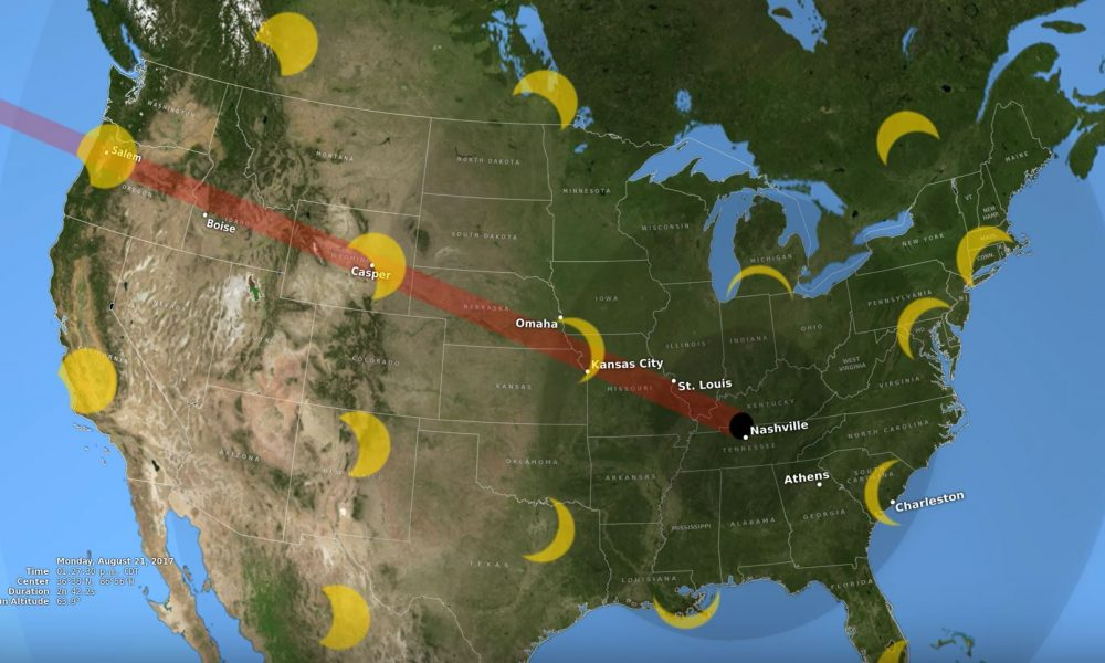 Rare Total Eclipse in August Will Leave Some of US in Total Darkness [VIDEO]