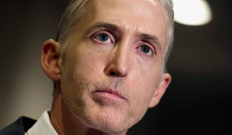 Democrats Running Scared, Trey Gowdy Set to Chair House Oversight Committee