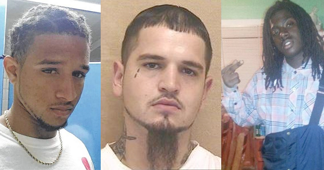 The late 20-year-old Jamie Lee Faison, 28-year-old Brandon Carver Stephens of Fairmont (CENTER) who had recently been released from prison and 17-year-old Jamar Hawkins of Lumberton.