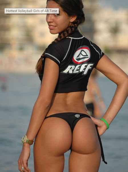 Women in Skimpy Uniforms Playing Volleyball [SLIDESHOW]