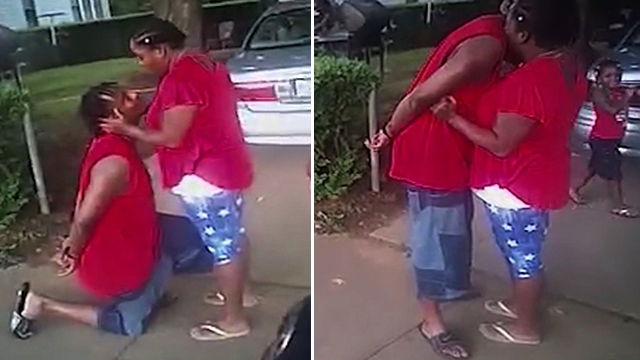 Man With 6 Felonies Was Allowed To Propose To Girlfriend While Getting Arrested [VIDEO]