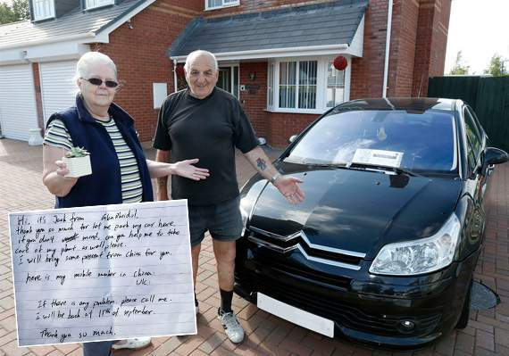 """Student Parks Car In Neighbor's Driveway, Left A Note That Said: """"I will be back On September 15th."""""""