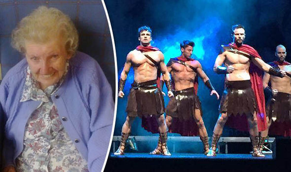 98yo Woman's Lifelong Wish Granted And It Included Naked Men Dancing
