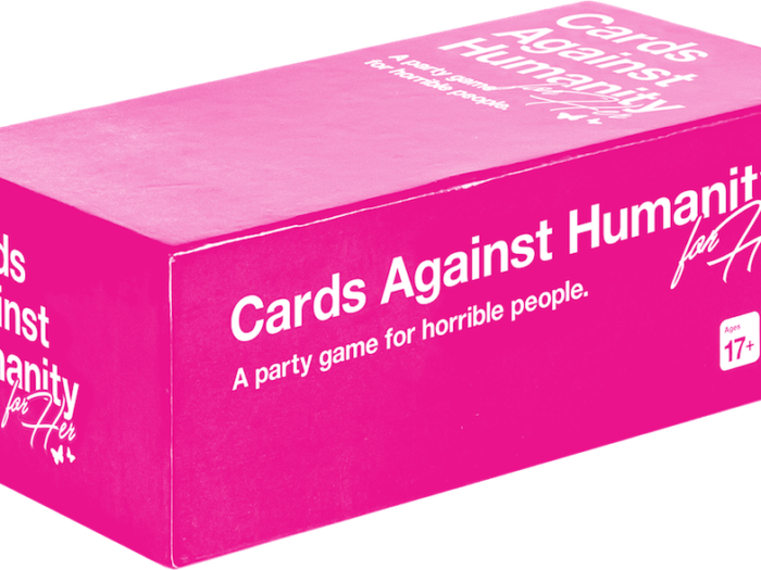 There Is Now A 'Cards Against Humanity' Version For Her