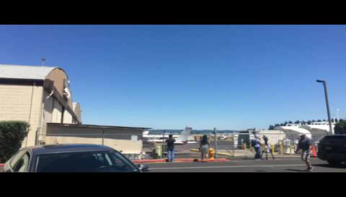 Police Take Down Armed Suspect Trying to Steal Helicopter From Oregon Airport [VIDEO]
