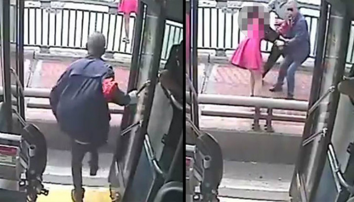 Man Is A Hero After He Saves Woman From Jumping Off A Bridge [RAW VIDEO]