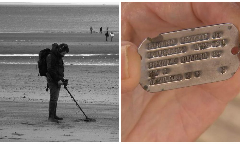 Man Finds World War II Relic On Italian Beach And Embarks On Quest [PHOTOS]