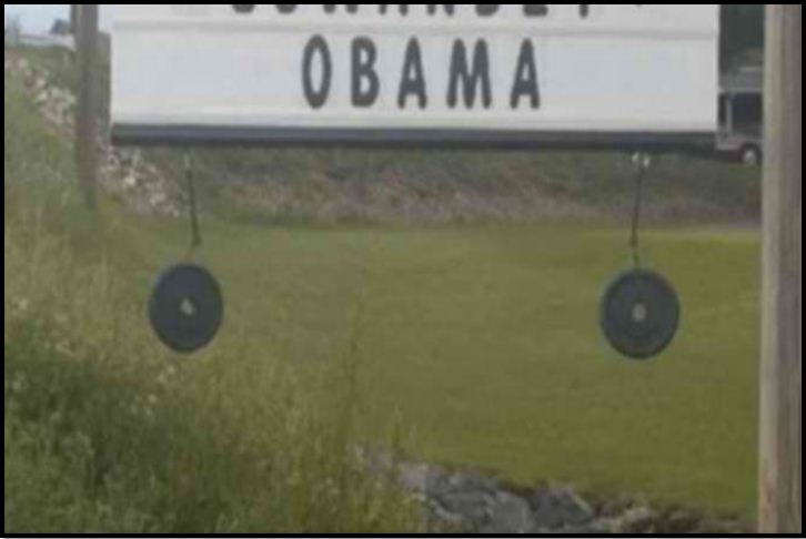 Homeowner Has One Message To People Offended By His Sign SLAMMING Obama Sign: Get Over It