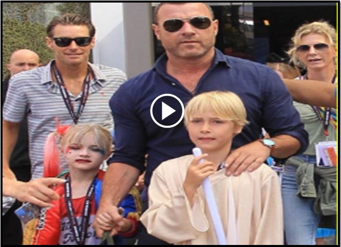 Look Closely At This Pic Of Liev Schreiber And His Son. Some Are Very Angry About It [VIDEO]