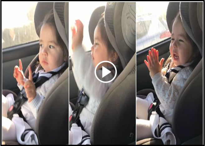 Toddler Goes Viral After Patiently Waiting For The Beat To Drop, And Then Killing It With Her Dance Moves [VIDEO]