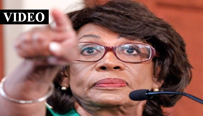"""Maxine Waters: Trump Is """"Not Presidential Material…Should Be Impeached"""""""