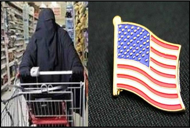 Muslim Insults Cashier Wearing U.S. Flag, This Man's Reaction Had Store Applauding